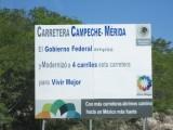 GALERÍA: CARRETERA CAMPECHE-MÉRIDA PELIGROSA IRRESPONSABILIDAD DE SCT