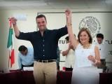 RECIBIÓ SU CONSTANCIA DE SENADOR JORGE LUIS LAVALLE MAURY