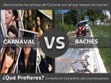 ¿RENUNCIARÍAS A LOS ARTISTAS DEL CARNAVAL CON TAL QUE REPAREN LOS BACHES?
