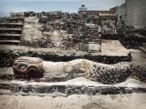 ENCUENTRAN 50 CRÁNEOS EN TEMPLO MAYOR DE LA CIUDAD DE MÉXICO
