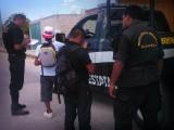 """POLICÍAS RECORREN """"FOCOS ROJOS"""" EN MARTES DE PINTADERA"""