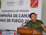 """PONEN EN MARCHA """"CAMPAÑA DE CANJE DE ARMAS DE FUEGO 2014″"""