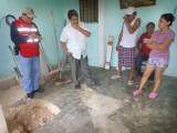 HUNDIMIENTO EN CALLE DE SIGLO XXI, AÚN SIN REPARAR: AFECTADOS