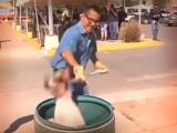 INDIGNANTE: VIDEO MUESTRA BAÑO GARRAPATICIDA EN ANTIRRÁBICO DE CHIHUAHUA