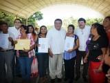 ENTREGA FOB 8.6 MDP PARA PRIMERA PLANTA PROCESADORA DE LACTEOS EN PALIZADA