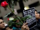 MARCHA POR AYOTZINAPA DEJA 31 PERSONAS DETENIDAS y AL MENOS 6 LESIONADOS