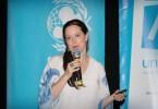 60627124.  México 27 Jun. 2016 (Notimex-Guillermo Granados).-  Erika Strand, jefa de Políticas Sociales de Unicef presentó el informe del Estado Mundial de la Infancia 2016. NOTIMEX/FOTO/GUILLERMO GRANADOS /GGV/POL