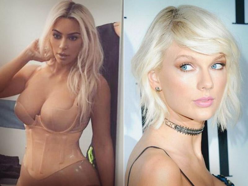 De Famosos Kim Revive Rencores Entre Taylor Swift Y Kanye West
