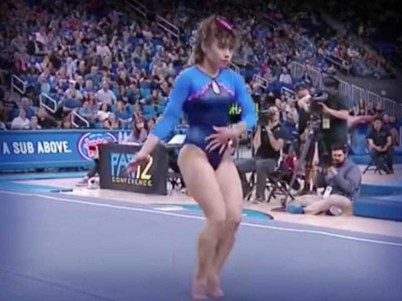 Sexo con una gimnasta de aficionados - 2 4