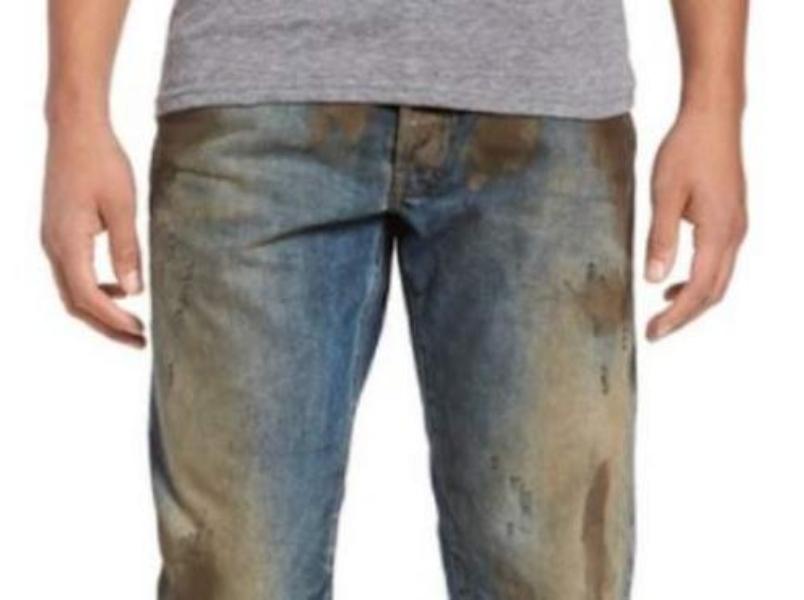 Gucci Puso A La Venta Unos Pantalones Con Manchas De Cesped Campeche Com Mx